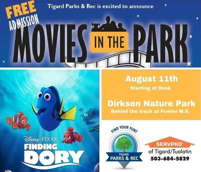 Movies in the Park -Finding Dory