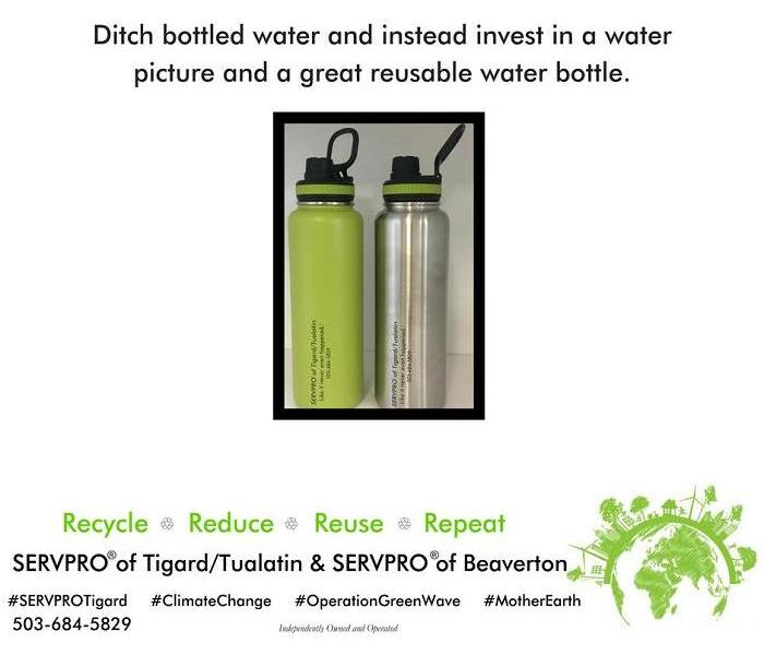 Ditch plastic water bottles