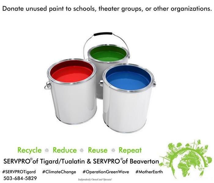 Donate leftover paint