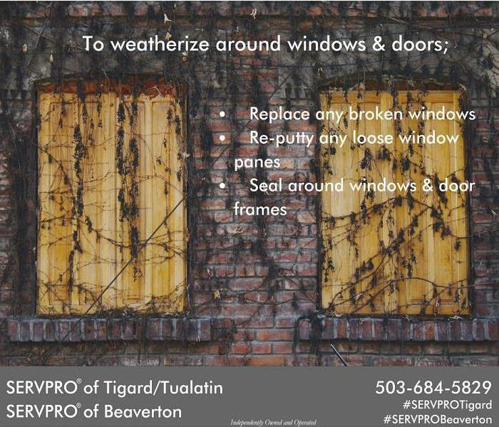 How to weatherize around windows & doors